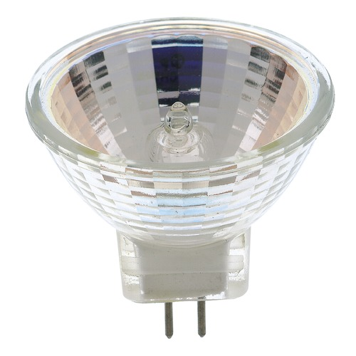 Satco Lighting MR-11 Halogen Light Bulb 2 Pin Spot 12 Degree Beam Spread 2900K 12V Dimmable S3153