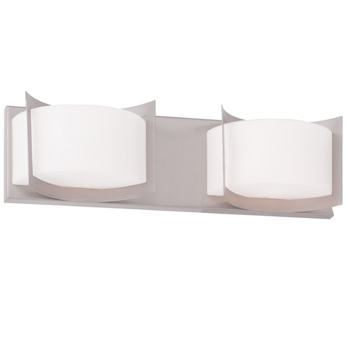 Livex Lighting Livex Lighting Wave Brushed Nickel Bathroom Light 1612-91