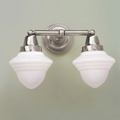 Norwell Lighting Norwell Lighting Bradford Brush Nickel Bathroom Light 8202-BN-AC