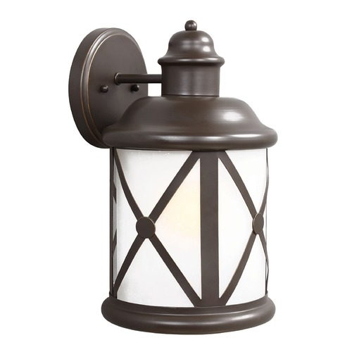 Sea Gull Lighting Sea Gull Lighting Lakeview Antique Bronze Outdoor Wall Light 8721401BLE-71