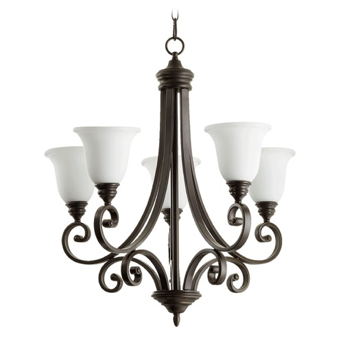 Quorum Lighting Quorum Lighting Bryant Oiled Bronze Chandelier 6154-5-186