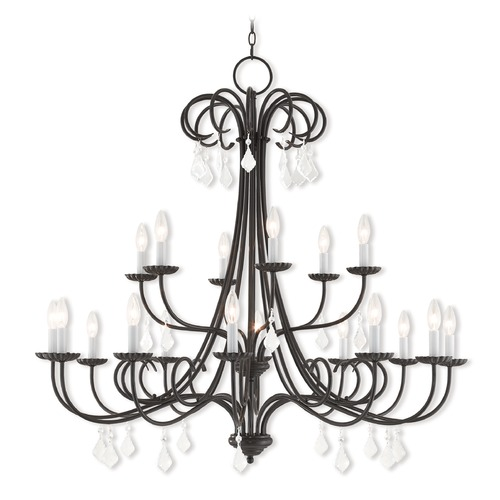 Livex Lighting Livex Lighting Daphne English Bronze Crystal Chandelier 40870-92