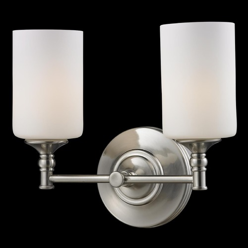 Z-Lite Z-Lite Cannondale Brushed Nickel Bathroom Light 2102-2V
