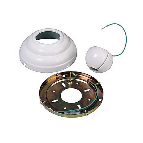 Sea Gull Lighting Ceiling Adaptor in White Finish 1630-15