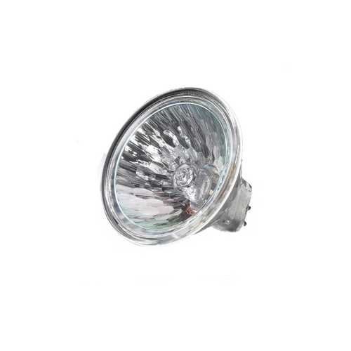 Ushio Lighting 20-Watt MR16 Flood Halogen Light Bulb with Lens Cover 1003412