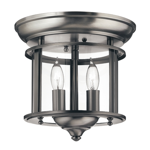 Hinkley Lighting Two-Light Semi-Flush Ceiling Light 3472PW