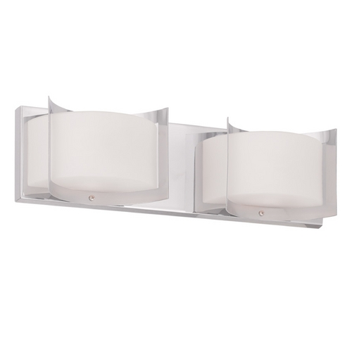 Livex Lighting Livex Lighting Wave Chrome Bathroom Light 1612-05