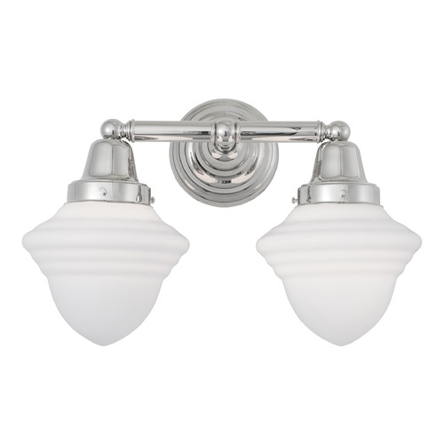 Norwell Lighting Norwell Lighting Bradford Polished Nickel Bathroom Light 8202-PN-AC