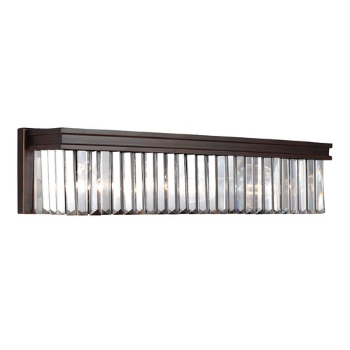 Sea Gull Lighting Sea Gull Lighting Carondelet Burnt Sienna Bathroom Light 4414004-710