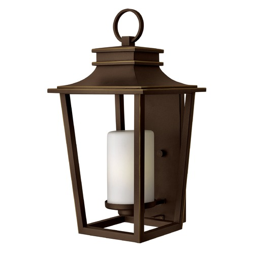Hinkley Lighting Hinkley Lighting Sullivan Oil Rubbed Bronze Outdoor Wall Light 1745OZ-GU24