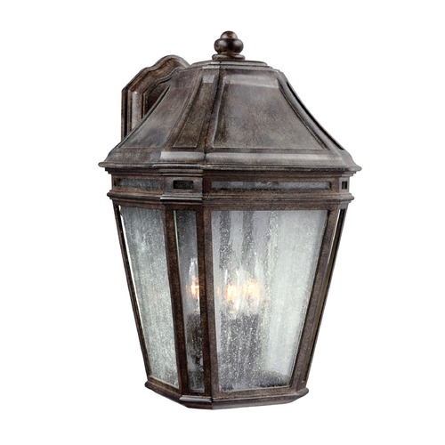 Feiss Lighting Feiss Lighting Londontowne Weathered Chestnut Outdoor Wall Light OL11302WCT