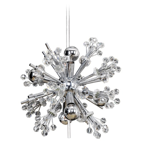 Allegri Lighting Constellation 6 Light Mini Pendant 11631-010-FR001