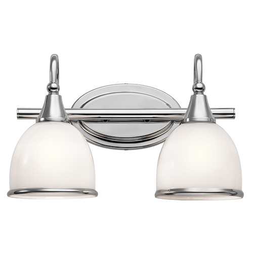 Kichler Lighting Kichler Lighting Rory Chrome LED Bathroom Light 45672CHL16