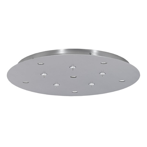 Tech Lighting Line-Low Satin Nickel / Metal Ceiling Adaptor by Tech Lighting 700FJPJRD11TS-LED