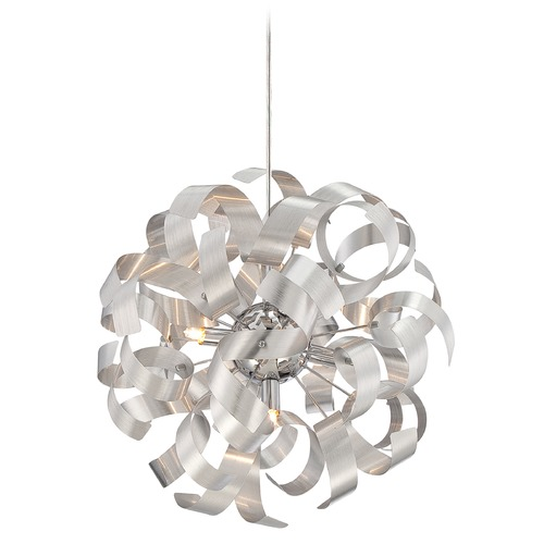 Quoizel Lighting Quoizel Ribbons Millenia Pendant Light RBN2817MN