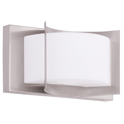 Livex Lighting Livex Lighting Wave Brushed Nickel Sconce 1611-91