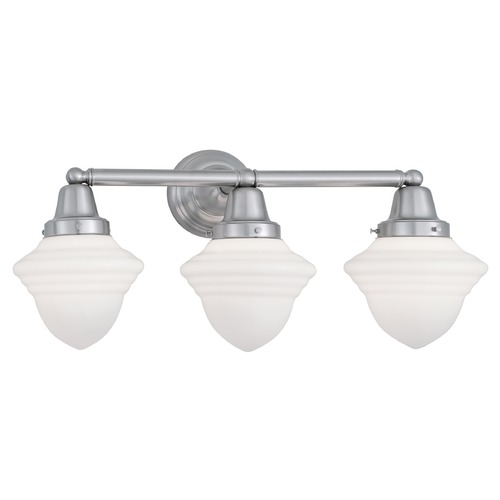 Norwell Lighting Norwell Lighting Bradford Brush Nickel Bathroom Light 8203-BN-AC