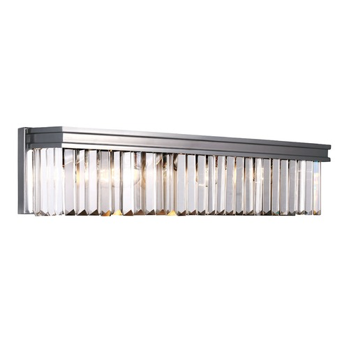 Sea Gull Lighting Sea Gull Lighting Carondelet Antique Brushed Nickel Bathroom Light 4414004-965