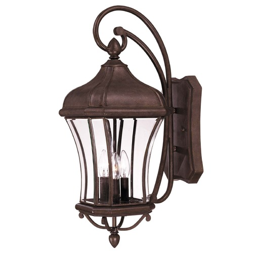 Savoy House Savoy House Walnut Patina Outdoor Wall Light 5-3802-40