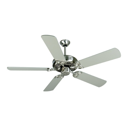 Craftmade Lighting Craftmade Lighting Cxl Stainless Steel Ceiling Fan Without Light K10679