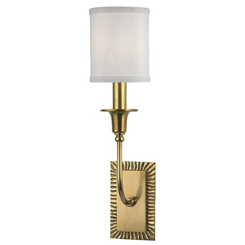 Hudson Valley Lighting Dover 1 Light Sconce - Aged Brass 8081-AGB