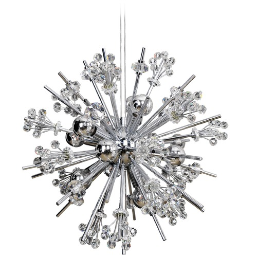 Allegri Lighting Constellation 10 Light Pendant 11632-010-FR001