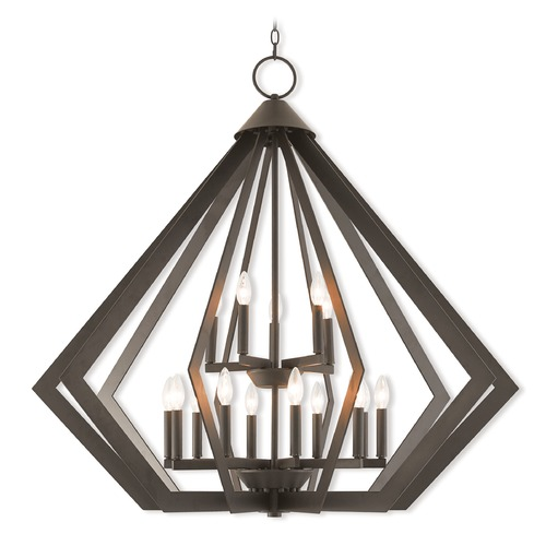 Livex Lighting Livex Lighting Prism Bronze Pendant Light 40928-07