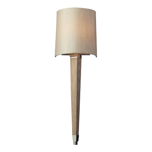 Elk Lighting Modern Sconce Wall Light in Polished Nickel Finish 31331/1