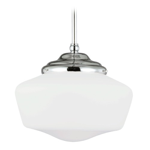 Sea Gull Lighting Sea Gull Lighting Academy Chrome LED Pendant Light 6543791S-05