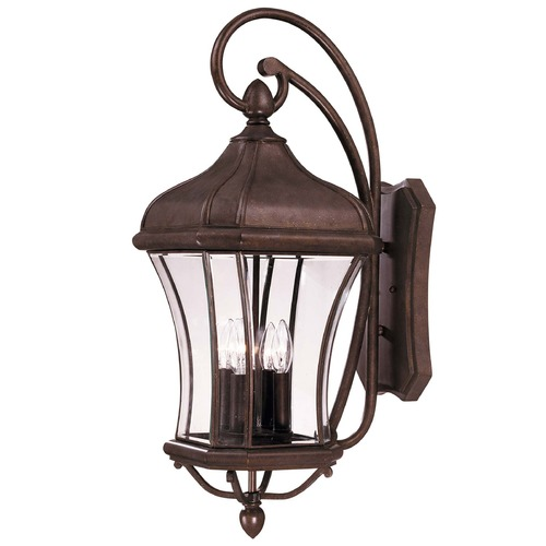 Savoy House Savoy House Walnut Patina Outdoor Wall Light 5-3803-40