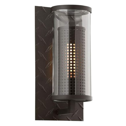 Troy Lighting Troy Lighting Murdoch Textured Bronze Outdoor Wall Light B4621TBZ