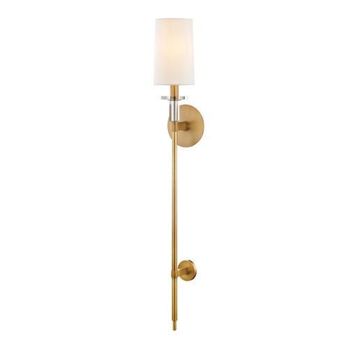Hudson Valley Lighting Hudson Valley Lighting Serena Aged Brass Sconce 8536-AGB