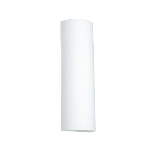 Besa Lighting Sconce Wall Light with White Glass 119007