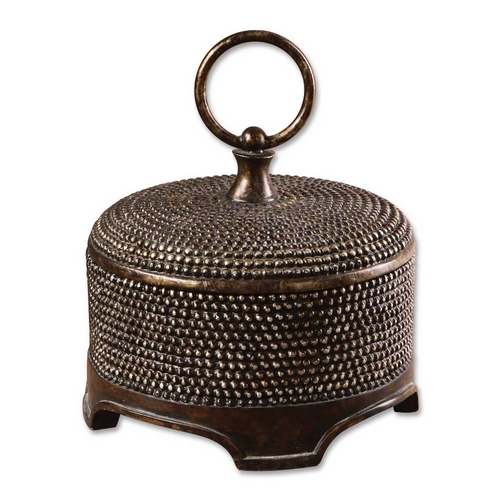 Uttermost Lighting Box in Burnished Wash Finish 19022