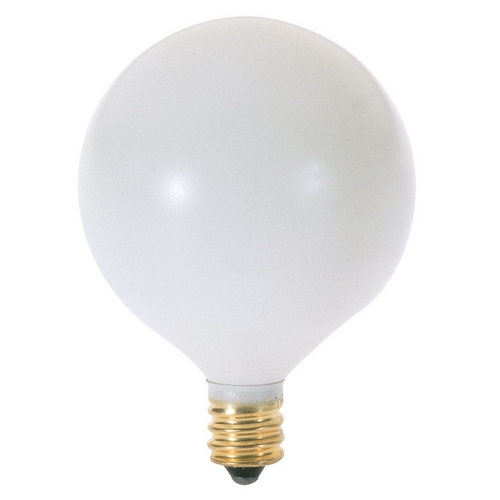 Satco Lighting 60-Watt Candelabra Light Bulb S3832