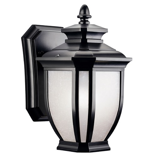 Kichler Lighting Kichler 10-1/2-Inch Outdoor Wall Light 9039BK