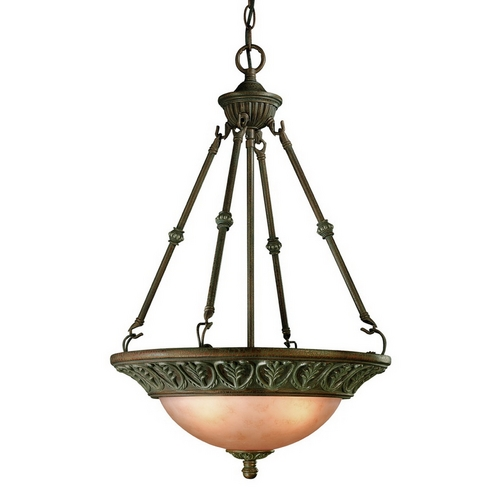 Dolan Designs Lighting Geneva Three-Light Pendant 846-38