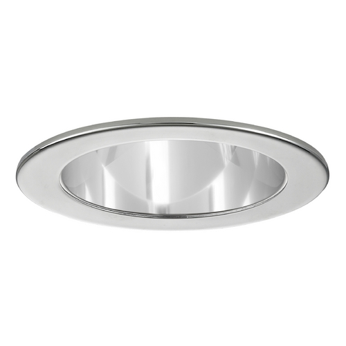 Recesso Lighting by Dolan Designs Clear Open Reflector PAR20 Trim with Chrome Ring for 4-Inch Recessed Cans T400C-CH