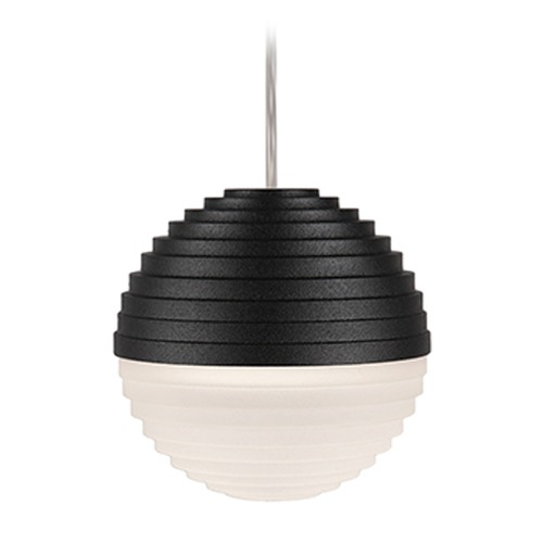 Kuzco Lighting Black LED Mini-Pendant Light by Kuzco Lighting PD10501-BK
