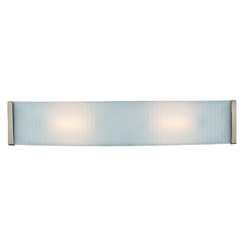 Access Lighting Access Lighting Helium Brushed Steel LED Bathroom Light 62042LED-BS/CKF