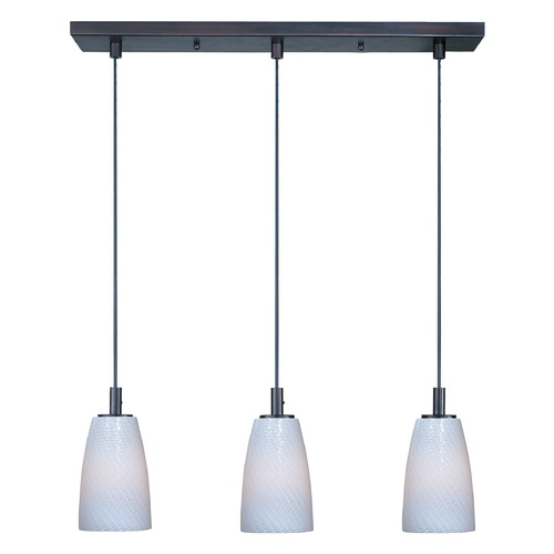 ET2 Lighting Carte Bronze Multi-Light Pendant with Bowl / Dome Shade E91043-13BZ