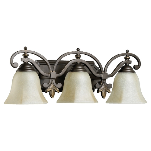 Quorum Lighting Quorum Lighting Marcela Oiled Bronze Bathroom Light 5031-3-86