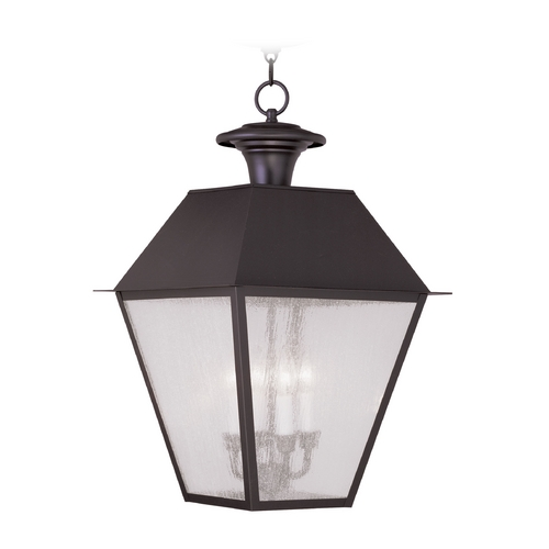Livex Lighting Livex Lighting Mansfield Bronze Outdoor Hanging Light 2174-07