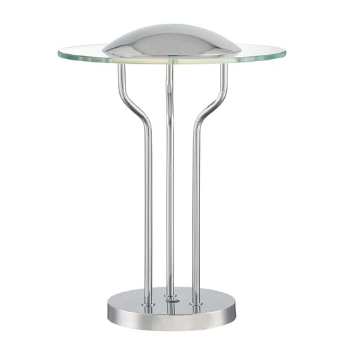 Lite Source Lighting Lite Source Domani Chrome LED Table Lamp LS-22478