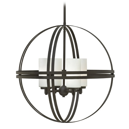 Hinkley Lighting Hinkley Atrium 4-Light Chandelier in Bronze 3274BZ