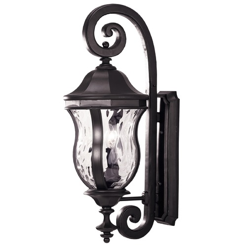 Savoy House Savoy House Black Outdoor Wall Light KP-5-300-BK