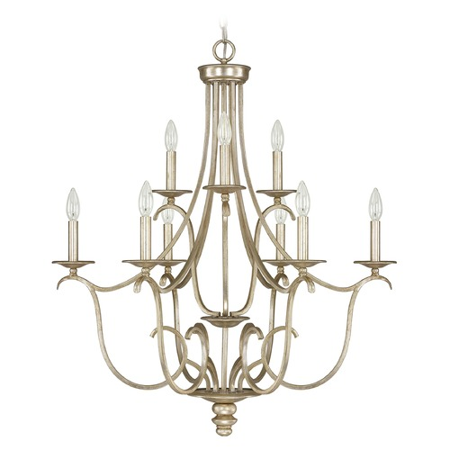 Capital Lighting Capital Lighting Bailey Winter Gold Chandelier 4729WG-000