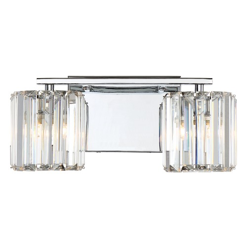 Quoizel Lighting Quoizel Lighting Platinum Collection Divine Polished Chrome Bathroom Light PCDV8602CLED