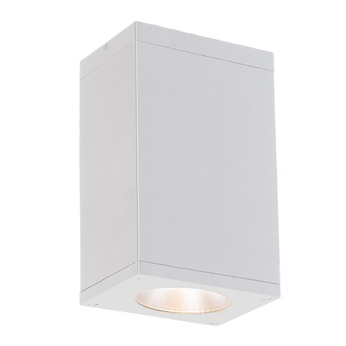 WAC Lighting Wac Lighting Cube Arch White LED Close To Ceiling Light DC-CD06-N840-WT