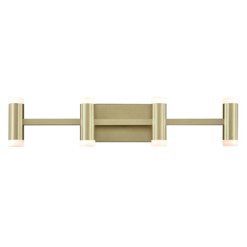 Kuzco Lighting Kuzco Lighting Brazen Brushed Brass LED Bathroom Light VL16727-BB